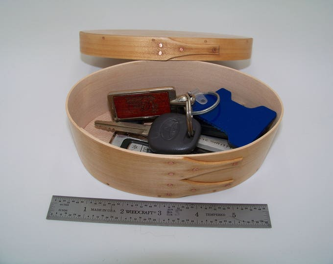 "Maple Shaker Box Size #2: 3 1/2"" x 5 3/4"""