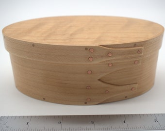 "Maple Shaker Box #2; size 3 1/2"" x 5 3/4"" :Item #2943"