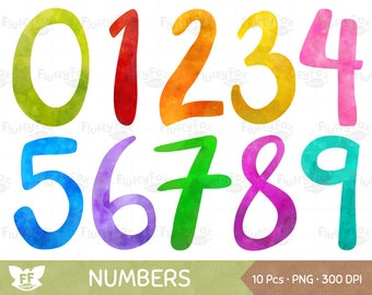 number clipart etsy rh etsy com number clipart pictures 1-31 number clip art 1-10