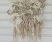 Full of Texture Neutral Woven Wall Hanging