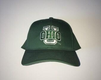 c218b40b658 Vintage 90s Ohio University Bear Cats Snapback Hat