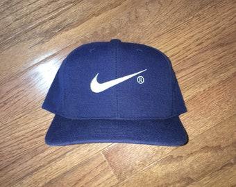 c78681119be5 ... wholesale vintage 90s bootleg nike snapback hat bd9df bbccb ...