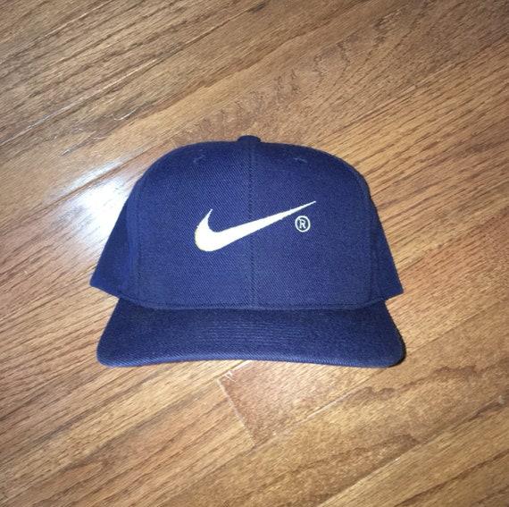 b0fba28e7b6 Vintage 90s Bootleg Nike Snapback Hat