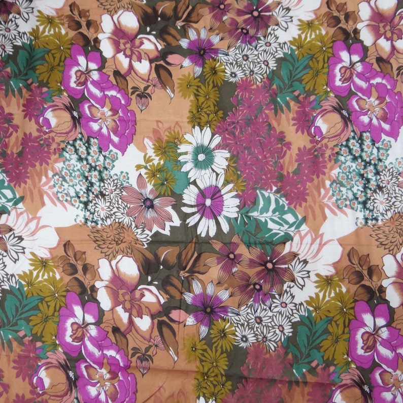 "Brown Pure Quilting Cotton Fabrics 43"" Wide Designer Fabric Craft By 1 Yd"