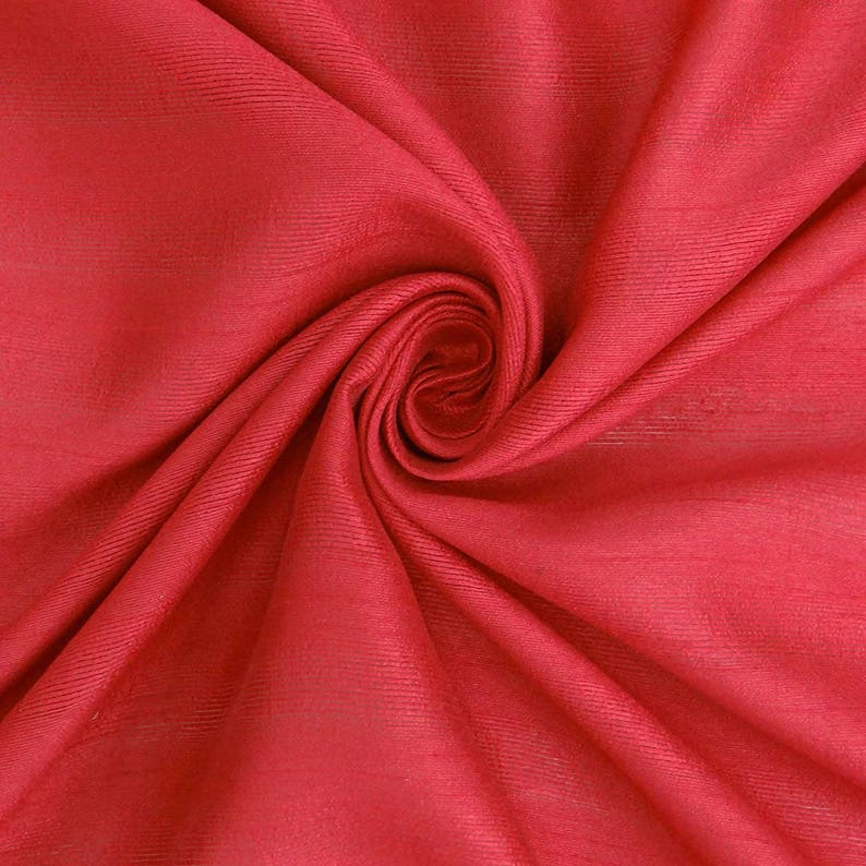 Red Silk Dress Material Polyester