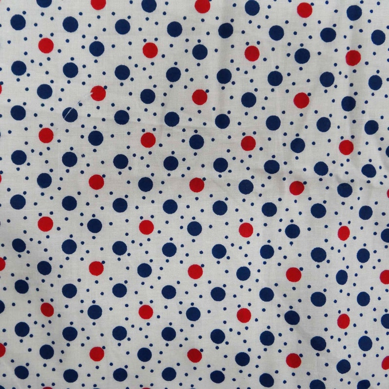 Polka Dot Print Wide Crafting Sewing Multicolor Cotton Fabric By The Yard