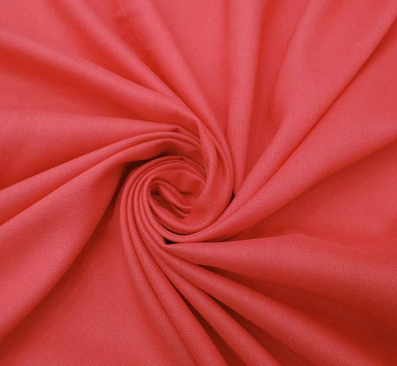 Solid Rayon Fabric Dressmaking 42 Inch Wide Sewing Supply Fabrics By The Yard