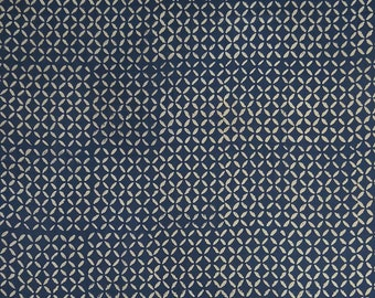 """Decorative Cotton Voile Fabric, Hand Block Fabric, Dress Material, Upholstery Fabric, 45"""" Inch Fabric By The Yard ZBC8434A"""