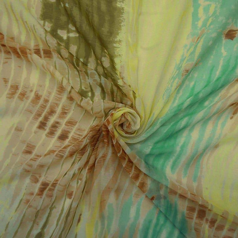 """White Light Weight Dressmaking Chiffon 47/"""" Wide Fabric Craft Sewing By 1 Yard"""