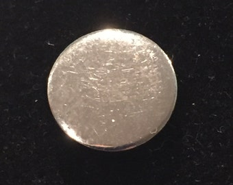 Silver-tone Tie Tack / Lapel Pin - CA 1960's - Item STT 107