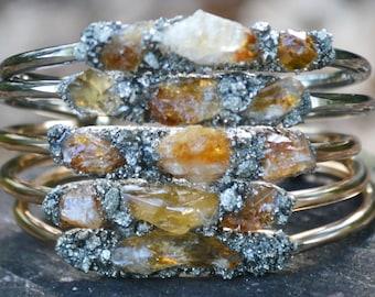 November Birthstone, Citrine Bracelet, Birthstone Bracelet, November Birthday Gift, Citrine JewelryValentines Day Gift