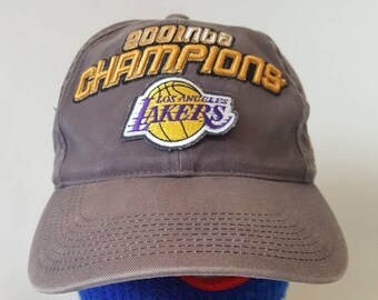 promo code 0cbbe bd114 Vtg Los Angeles Lakers Champions Dad hat sports specialties Kobe Bryant Shaq  oneal
