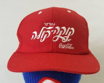 596492f84 Red coca cola hat | Etsy