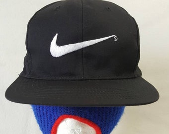 91f095791727c Vtg Bootleg Swoosh Nike Snapback hat cap