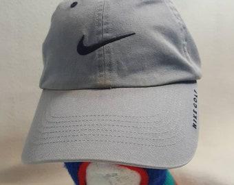 Vtg Nike Golf dad hat strapback hat cap c3985019e272