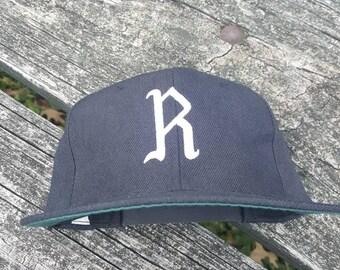 fa99748555c Vtg Richmond Virginians 1950s Minor League snapback hat cap Atlanta Braves  Virginia MLB baseball Cap old English