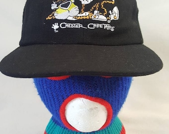 cab3d8366a0 Vintage Chester Cheetah Cheetos snapback hat cap planet lunch