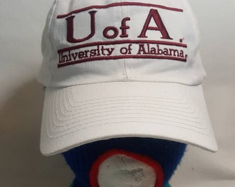 a218ed9ac6912 Vintage University of Alabama Crimson Tide The GAME Snapback hat cap split  bar