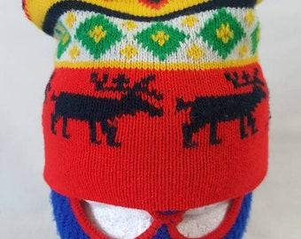 bacd16f91 Ski beanie hat | Etsy