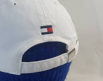 8e6ad3474d1 Vtg Tommy Hilfiger Martin Luther King Jr. Adjustable Strapback hat Black  History Month cap color block Flag Retro tommy Hilfiger