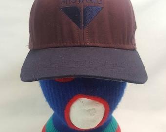 9e1e06302 Vintage Snowbird dad hat leather Strapback Vail Ski Snowboarding cap