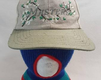 b26e7cb4fc9 Vtg American Needle The Masters Augusta National Beige dad hat Magnolia  Golf Cap