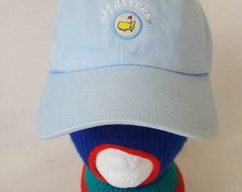 Vintage The Masters PGA cloth strapback American Needle hat Golf Cap  snapback 419927a59e7b