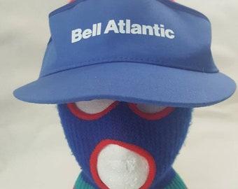 eb3dc6c141b vtg Bell Atlantic C   P Telephone blue visor work wear communication