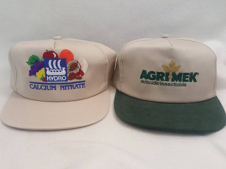 Vtg Hydro Farming Agrimex  Snapback hat  Made In USA seed image 0