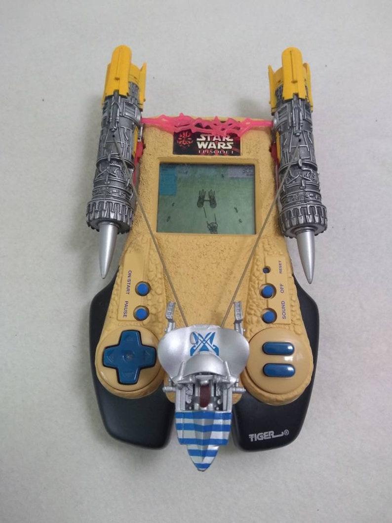 Vtg Star Wars Episode 1 Handheld Tiger Lucasfilms  electronics image 0