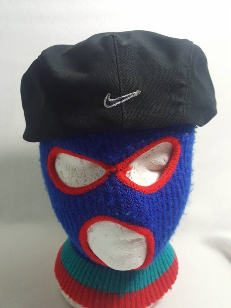 9bcc900e Vintage Nike Swoosh Newsboy Cabbie hat Golf cap | Etsy