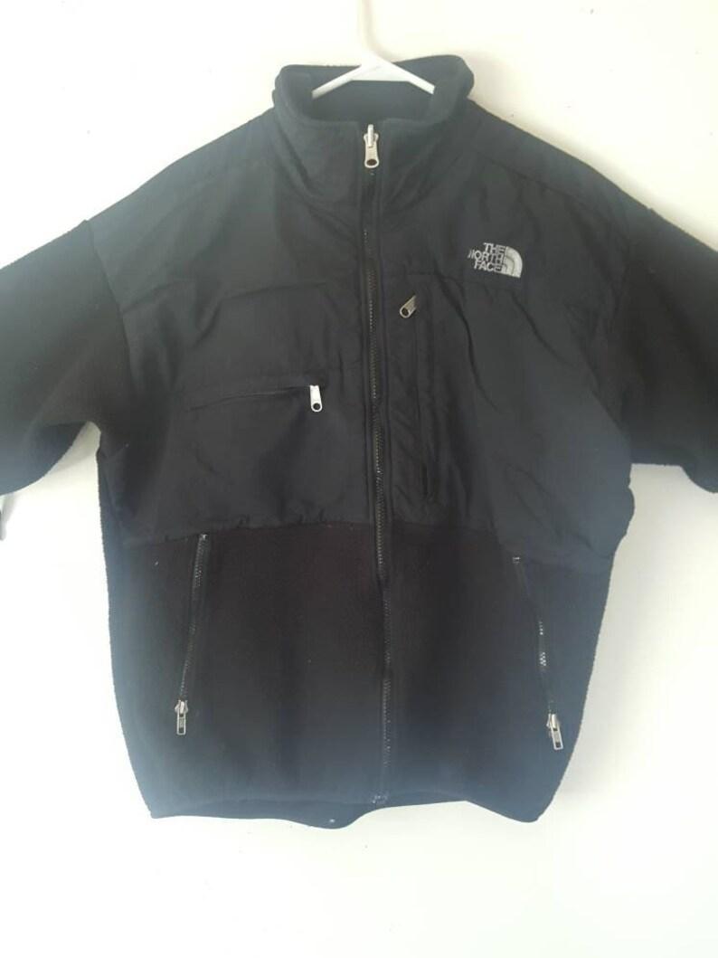 0d7aca297 The NORTH FACE Denali Fleece Jacket Men's Lg Black Made in USA
