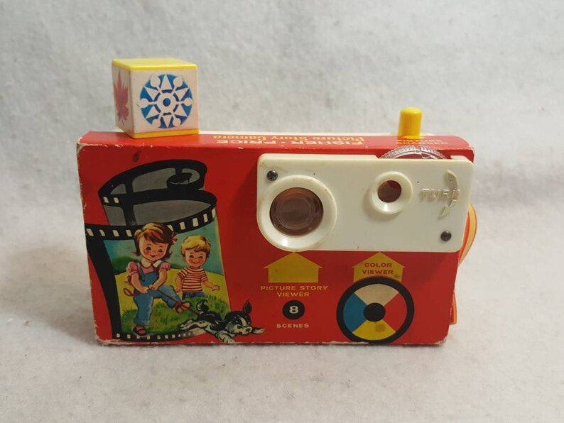 Vtg  Fisher Price Picture Story  Camera 1967 image 0