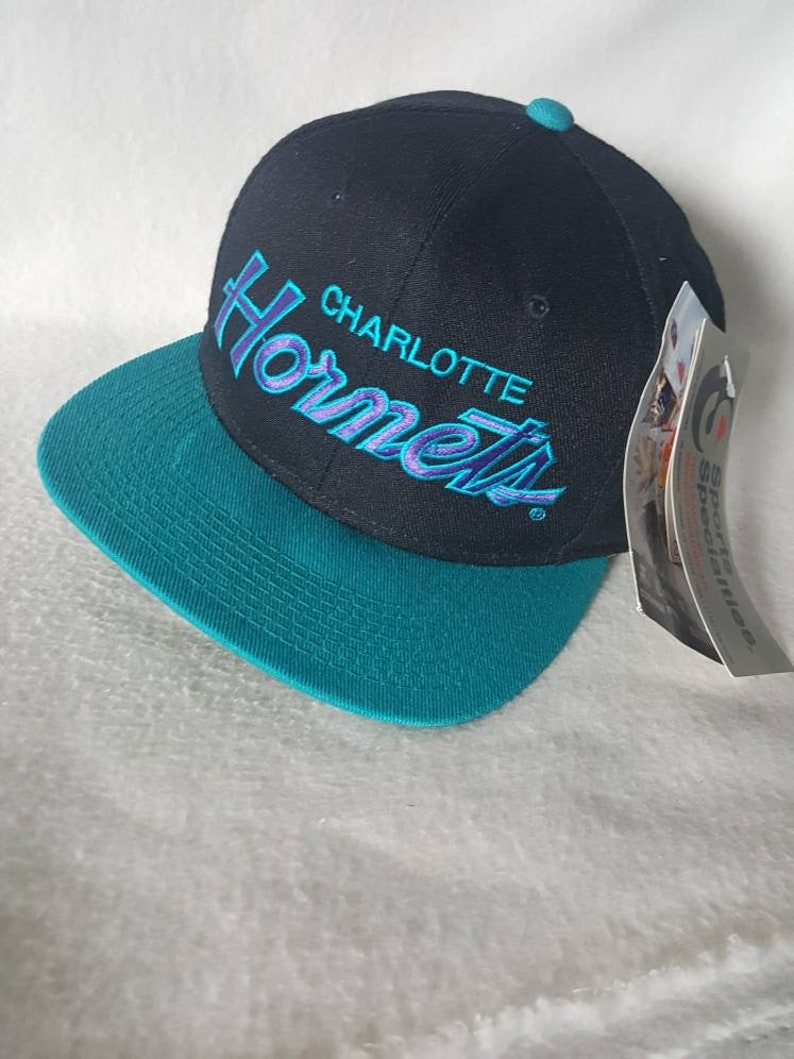 quality design new arrival united kingdom new concept f2a0a 23c7e nba charlotte hornets script snapback ...