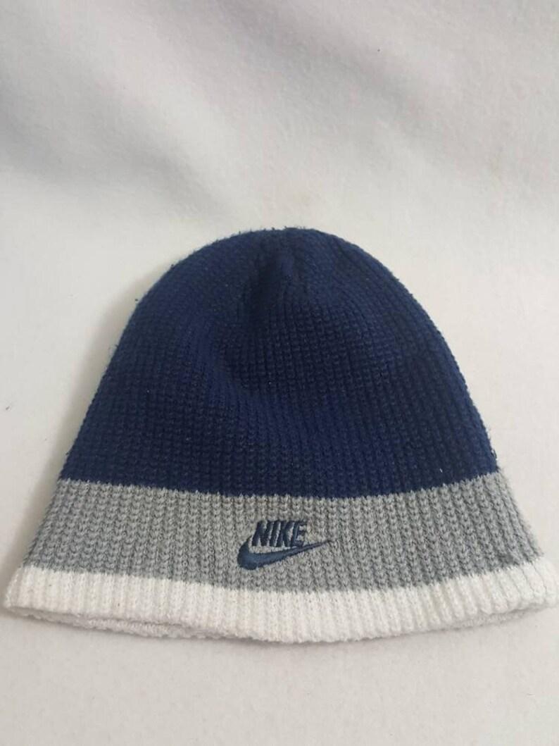 e90fe451568 Vintage Nike swoosh Bucket knit Hat