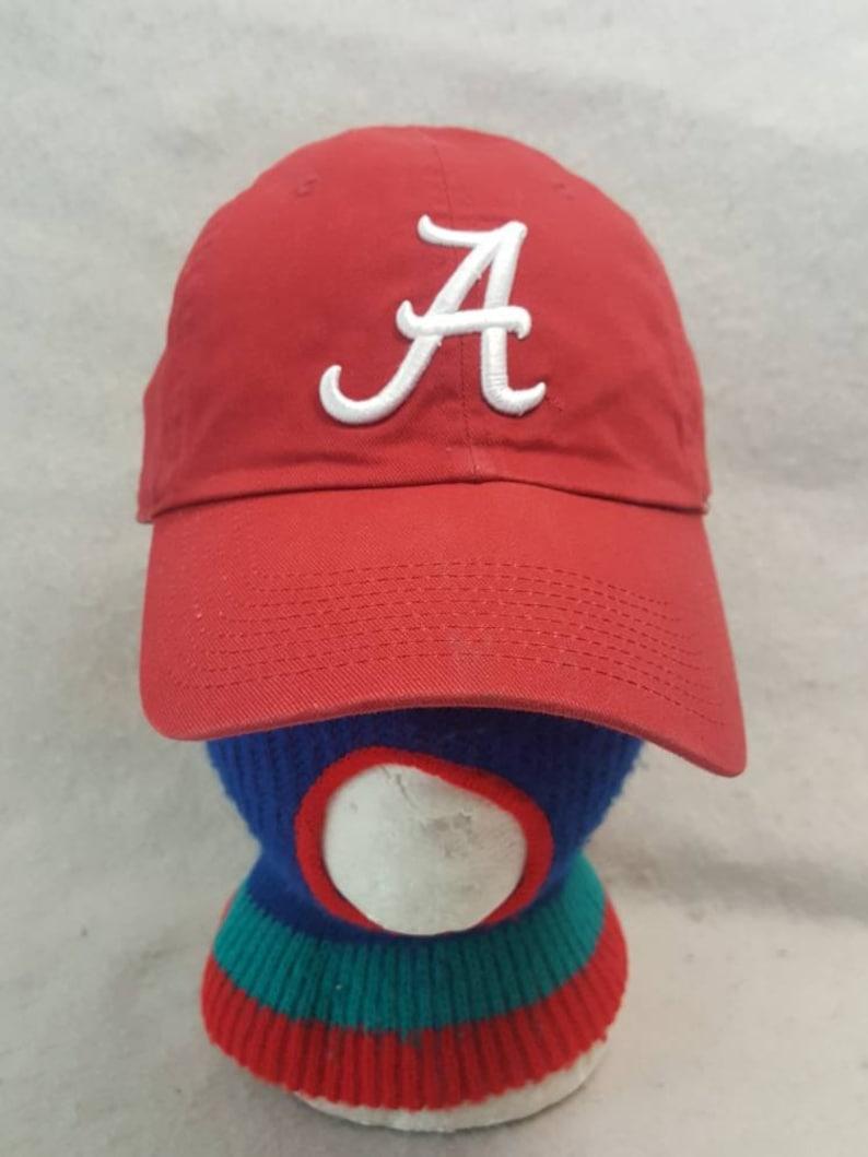 Vtg  Alabama Crimson Tide Nike  dad hat cap SEC college image 0