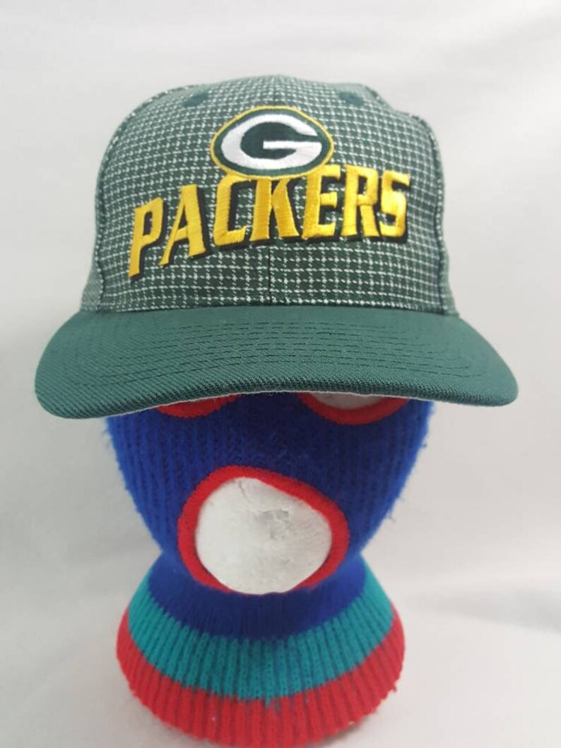 Vtg Logo Athletic Green Bay Packers dad hat cap nfl Football image 0