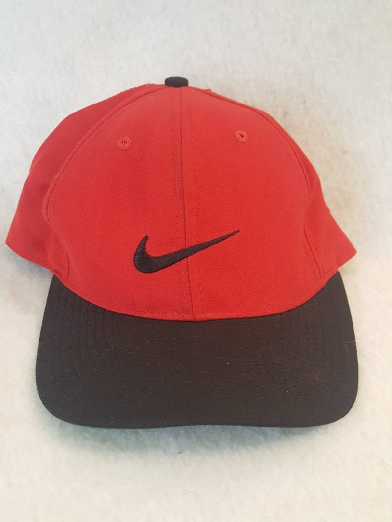 942acfecff6 Vtg Nike Golf fitted hat cap 7 1 4