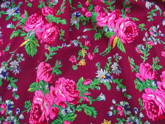 Romanian Woolen Skirt ukrainian Romanian floral w… - image 4