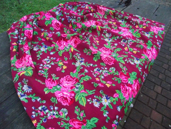 Romanian Woolen Skirt ukrainian Romanian floral w… - image 3