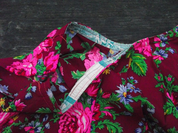 Romanian Woolen Skirt ukrainian Romanian floral w… - image 6