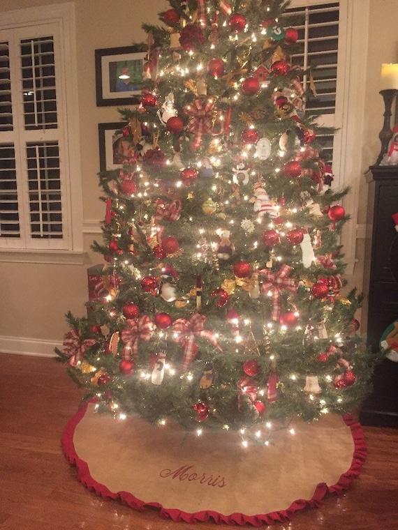 image 0 - 60 And 48 Christmas Tree Skirt Large Tree Skirt Etsy
