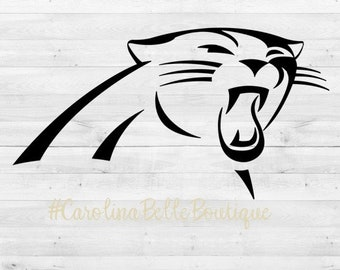 Carolina Panthers Decal  Panthers Sticker  Panthers Decal d2d46a6cc