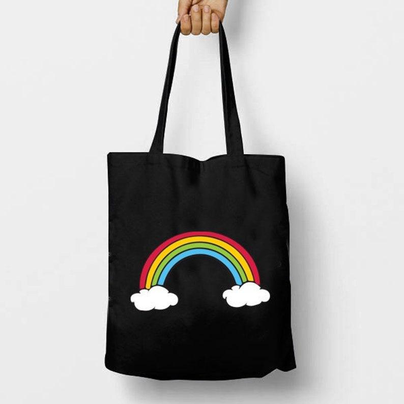 Party Time Cat Regular Tote Bag Funny Shoulder