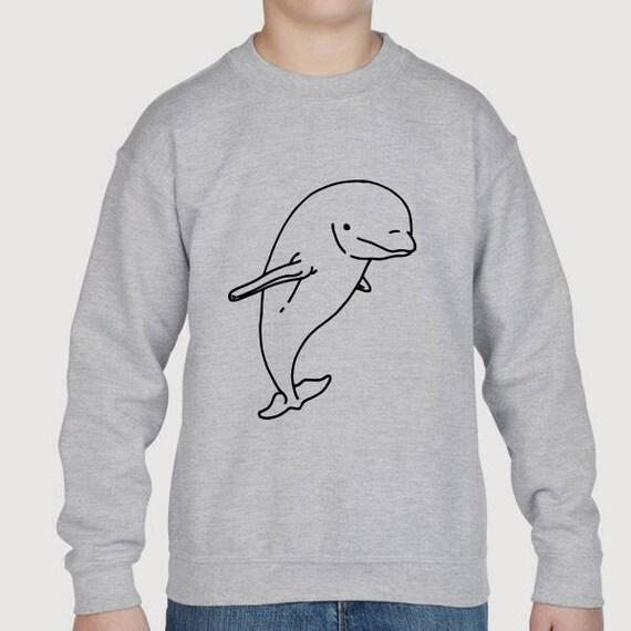 Cute Animal Pocket Kids Unisex Hoodie ORCA Killer Whale