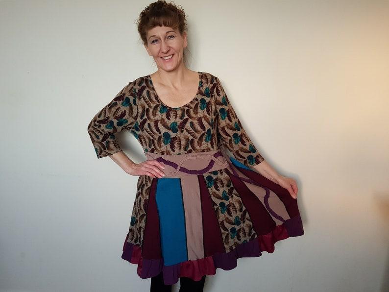 bde7d5e8e6 Plus size dresses for women Upcycle clothing woman Hippie