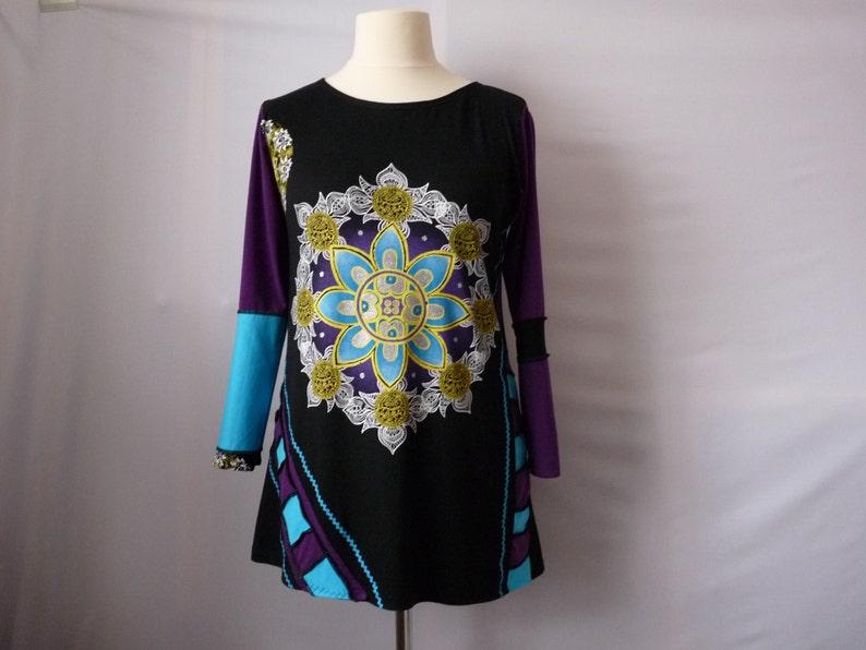 8b263b8acb4 Boho hippie clothes Plus size clothing Womens tops Womens