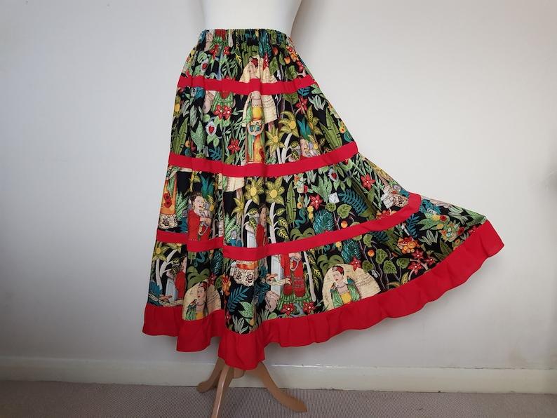 d0204d80d9 Summer skirt boho Maxi skirts for women Hippie clothing | Etsy