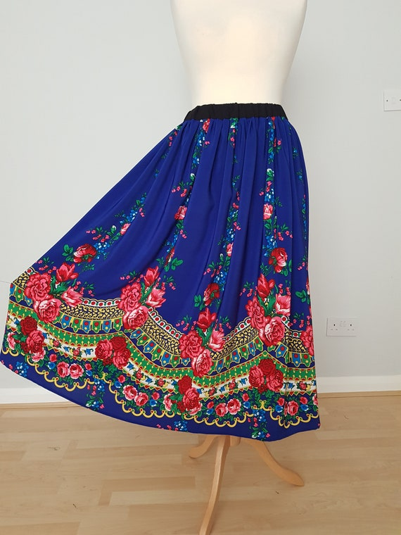 Nevera Women Long Skirt Lady Hippie Bohemian Skirt Vintage Boho Asymmetric Hem Dress
