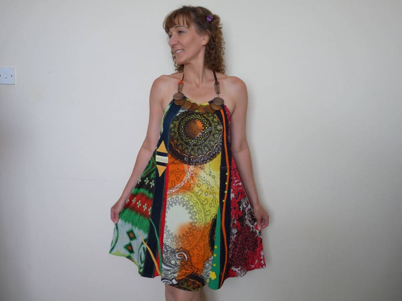 5373f3bbc8b Upcycled dress Boho dress Plus size dresses tunic Hippie
